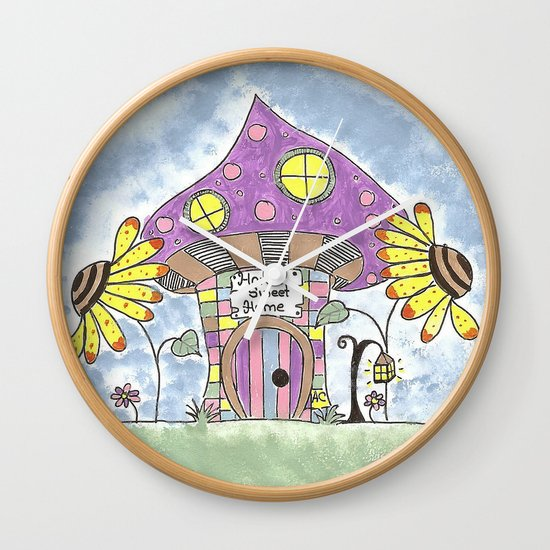 Whimsical Mushroom House by icraftcafe