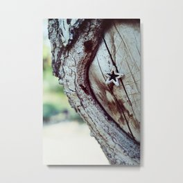 Star Tree Metal Print