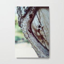 Star Tree Metal Print