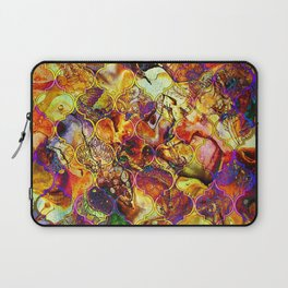 V15 Lovely Traditional Moroccan Pattern Colored Design Waves. Laptop Sleeve