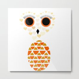 Owls Just Want to Have Fun No.4 Metal Print