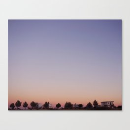 Dreaming in Marathon, Texas Canvas Print