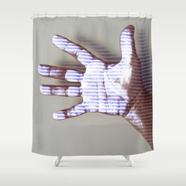 Ultraviolet Touch Shower Curtain