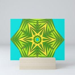 Green Star Mini Art Print