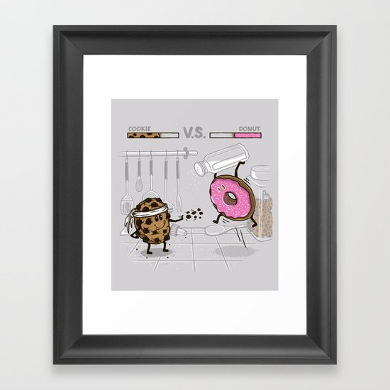 Duelicious Framed Art Print