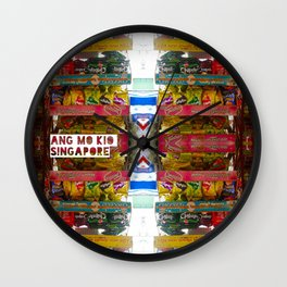 CHIPS Wall Clock