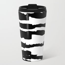 Dashed Stripes Travel Mug