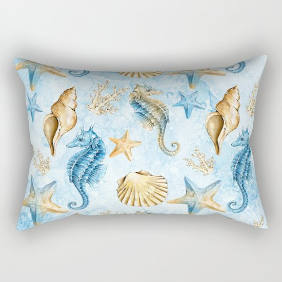Sea & Ocean #1 Rectangular Pillow