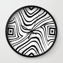 Zebra Gruge 6 Wall Clock