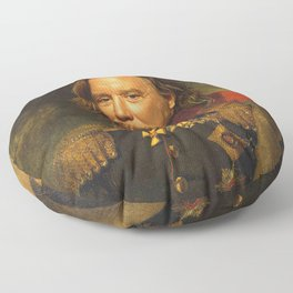 Mickey Rourke - replaceface Floor Pillow
