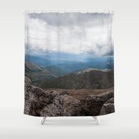 colorado Shower Curtains featuring Colorado by Ashley Hirst Photography