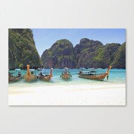 Maya Bay, Phi Phi Island Leh, Thailand Canvas Print