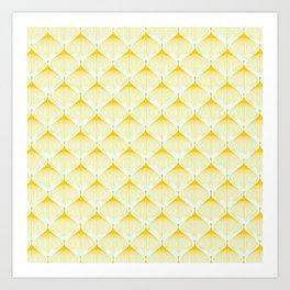 Saffron Bulbs Art Print