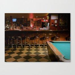 Dive Bar, Denver Canvas Print