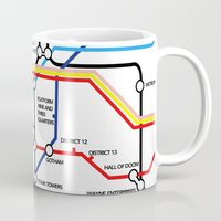 fandom Mugs featuring Fandom Underground by Rchel_h_Smith
