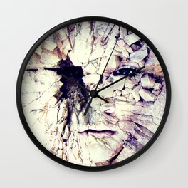 Bleak world of absent law Wall Clock