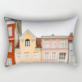 Houses Rectangular Pillow