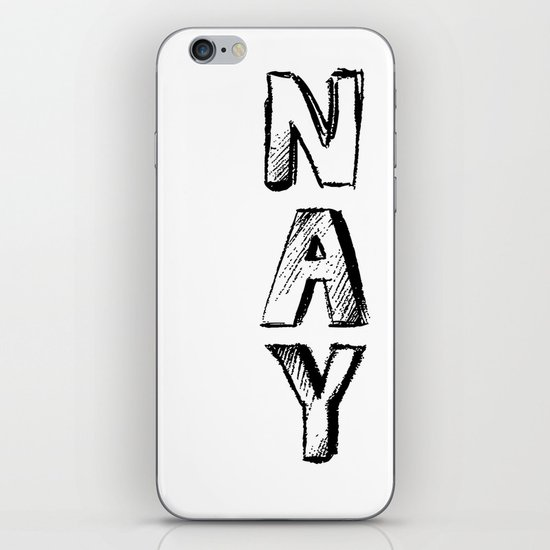 NAY iPhone & iPod Skin