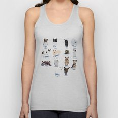 14 Dogs & Kitties Unisex Tank Top
