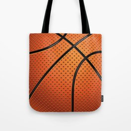 Basketball Ball Tote Bag