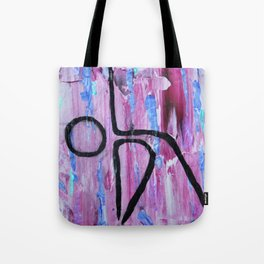 Extended Triangle pose abstract Tote Bag