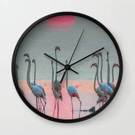 FLEMISHES 2 Wall Clock