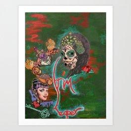 Night of the Dead Art Print