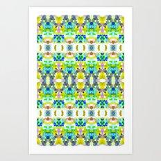 Pixel Perfection Art Print