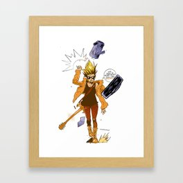 Move!! Framed Art Print