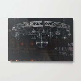 Disco Room Metal Print