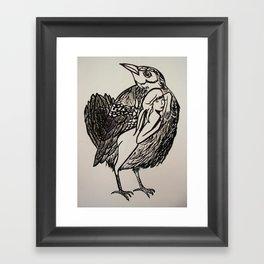 Bird #society6 #decor #buyart Framed Art Print