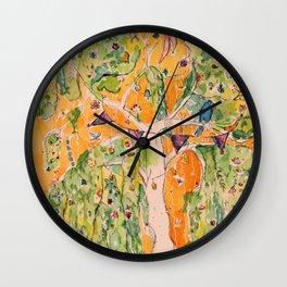 The Gifting Tree Wall Clock