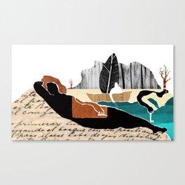 Gabriela Mistral 2 era prosa Canvas Print