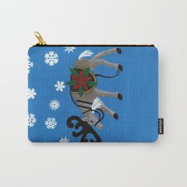 Ready for Santa's Sleigh Carry-All Pouch