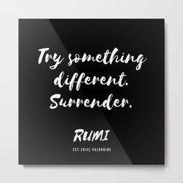 20   Rumi Quotes Good Vibes 190514 Metal Print