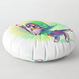 Cosplay Kittens - Kitten of Time Floor Pillow
