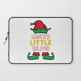 SANTA'S LITTLE HELPER Laptop Sleeve