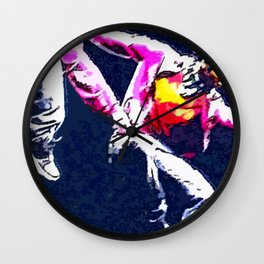 Dance Dance Dance Wall Clock