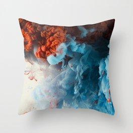 Collision II Throw Pillow