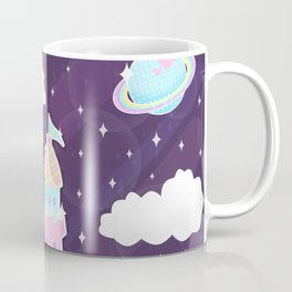 Dreamy Cute Space Castle Coffee Mug
