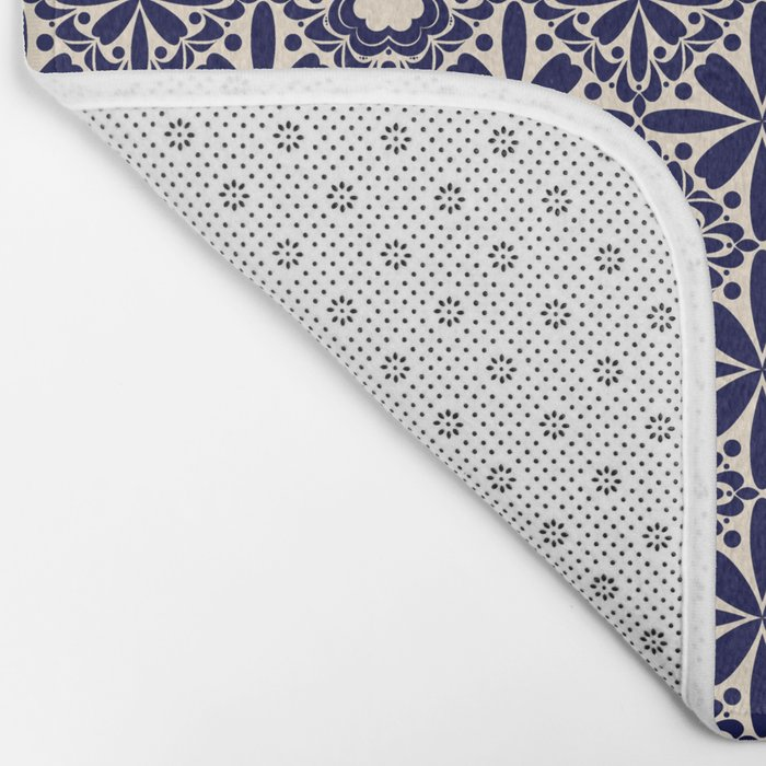 Pattern art curtain 2 Bath Mat