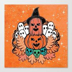 It's Halloween Canvas Print