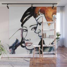 Lover Wall Mural