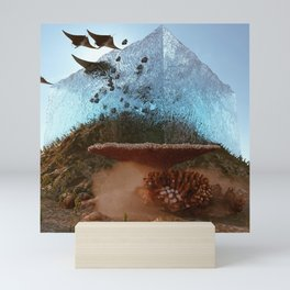 above water Mini Art Print