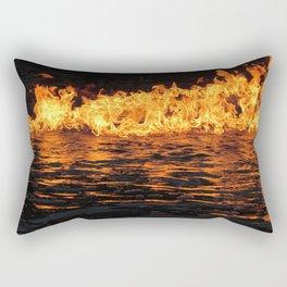 Fire on Water Rectangular Pillow