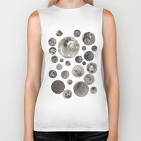 planets Biker Tanks featuring Planets by Dreamy Me