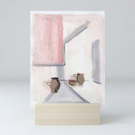Asymmetric Potteries Mini Art Print