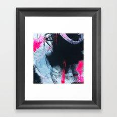 High speed candies Framed Art Print