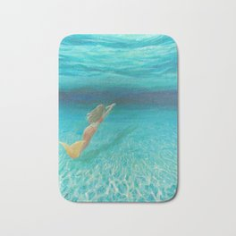 Wish I Could be Under the Sea Bath Mat