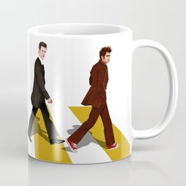 The Doctors at abbey road Coffee Mug
